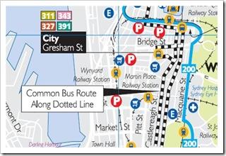 Baba laska bus map