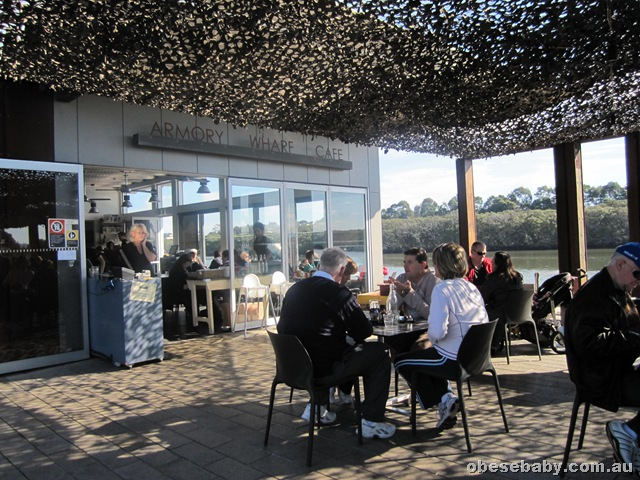 The Armory Wharf Cafe In Blaxland Riverside Park Located Not Far Away From Homebush Bay It Provides A Great Meeting And Breakfast Lunch Place For